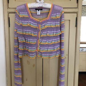 Nanette Lapore cropped sweater